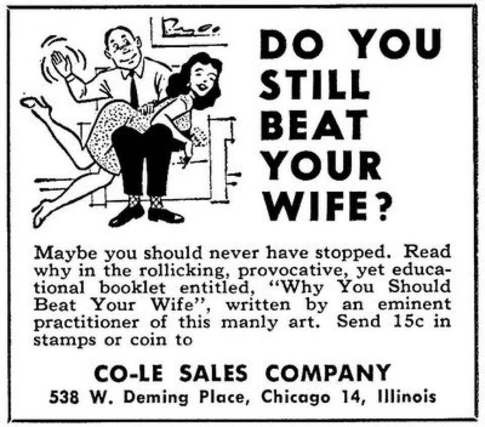 do youstill beat your wife