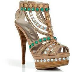 Bohemian heals sandals
