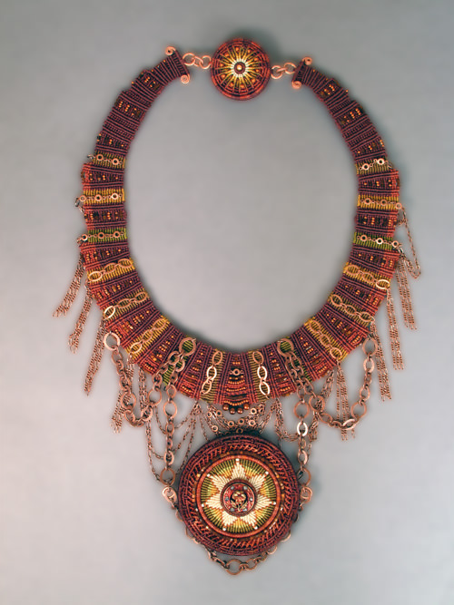 Cazimi Collar (Cazimi is an Arabic word meaning in the heart of the Sun)