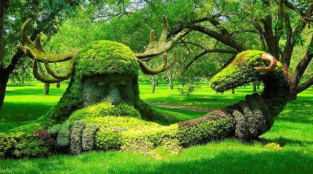 Grasssculptures art