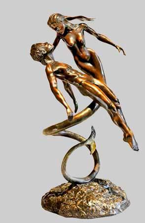 Atargatis, Peter Barnes Sculpture
