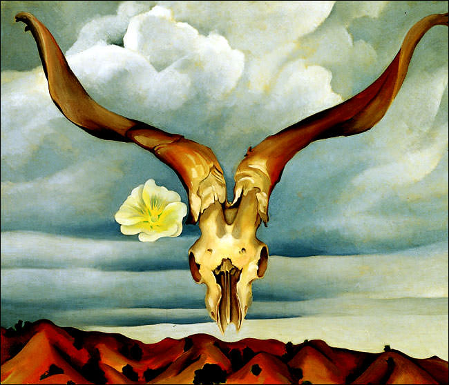 Ram's Head, White Hollyhock - Hills, 1935