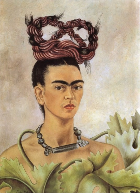 Self-Portrait with Braid – 1941