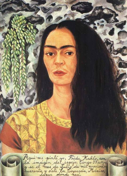Self-Portrait with Loose Hair - 1947