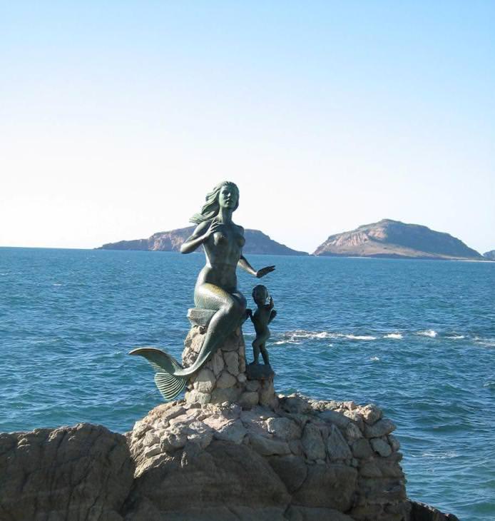 Sri Chinmoy Statue, Mazatlan, Mexico