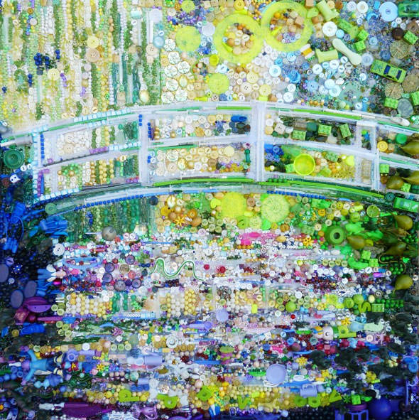 The Bridge of Lily Pond - Monet
