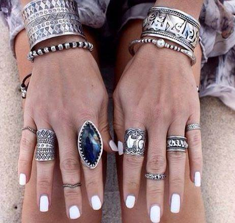 bohemian combination of rings 1