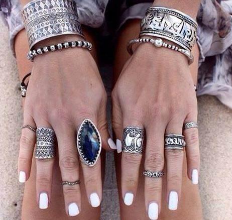 bohemian combination of rings 1