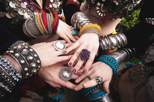 bohemian combination of rings 3