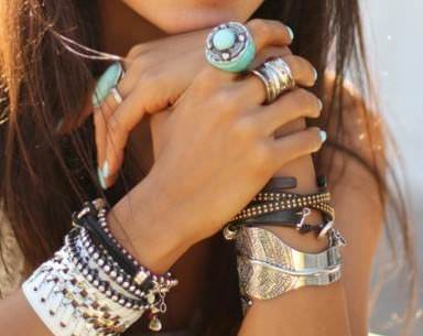 bohemian combination of rings 4