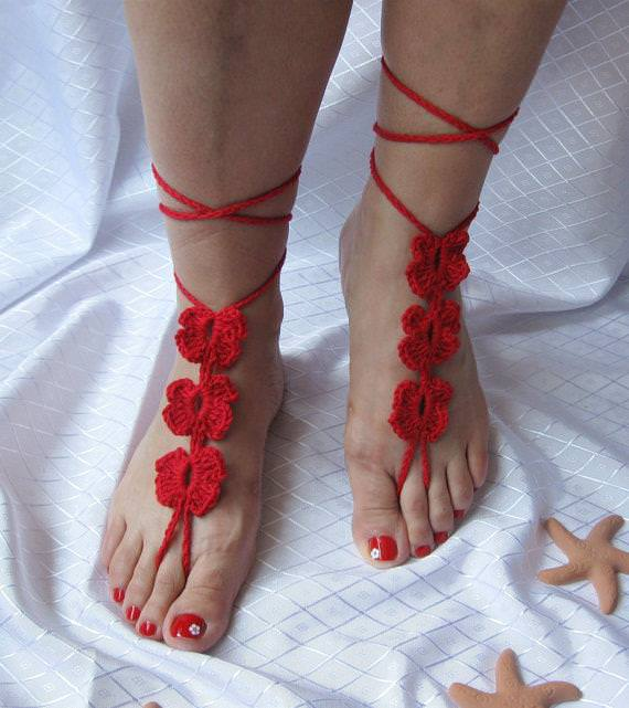 knited red