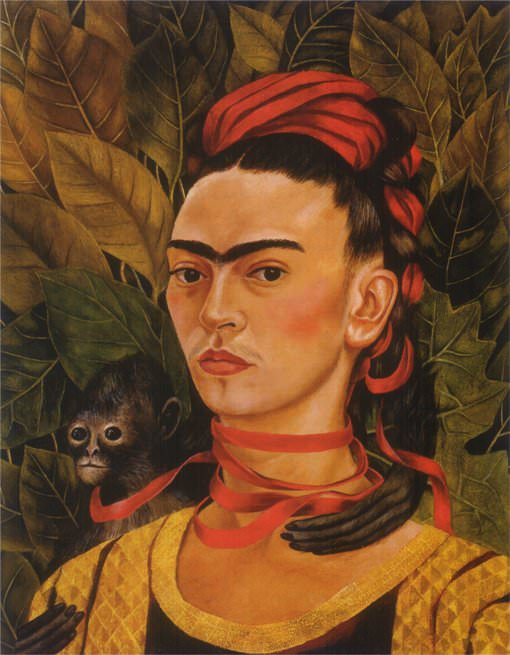 Self-Portrait with Monkey – 1940