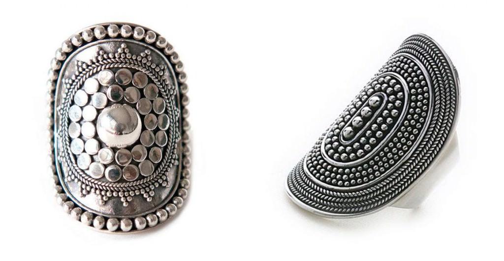 bohemian sliver ring