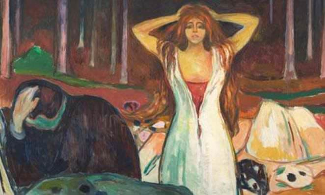 Ashes, Edvard Munch 1925