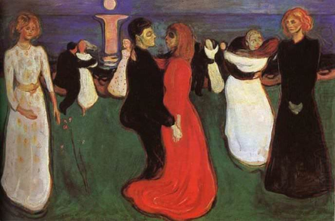 Dance of life, Edvard Munch