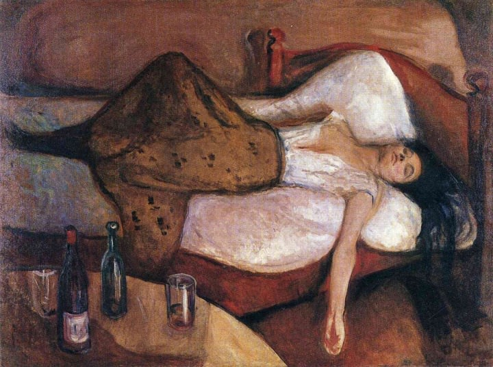 Day after, Edvard Munch