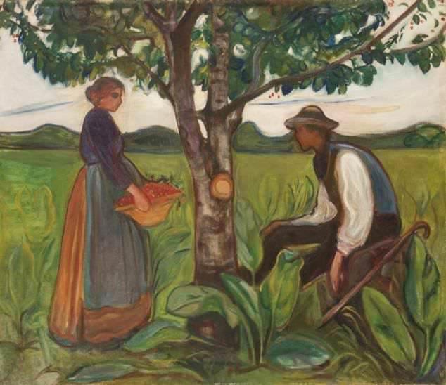 Fertility, Edvard Munch