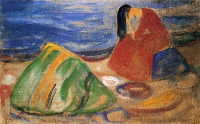 Melancholy, Edvard Munch