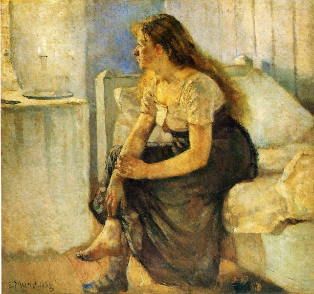 Morning, Edvard Munch