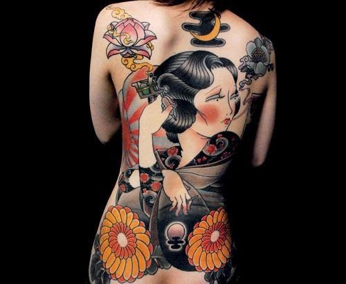 Woman Tattoo Art