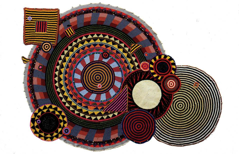 Xenobia Bailey circles 1