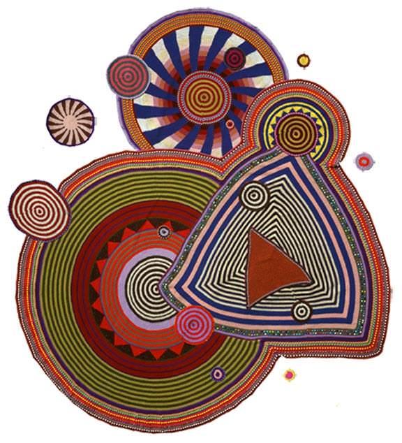 Xenobia Bailey circles