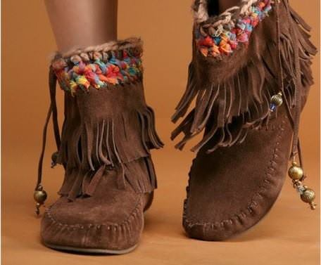 bohemian boots 22