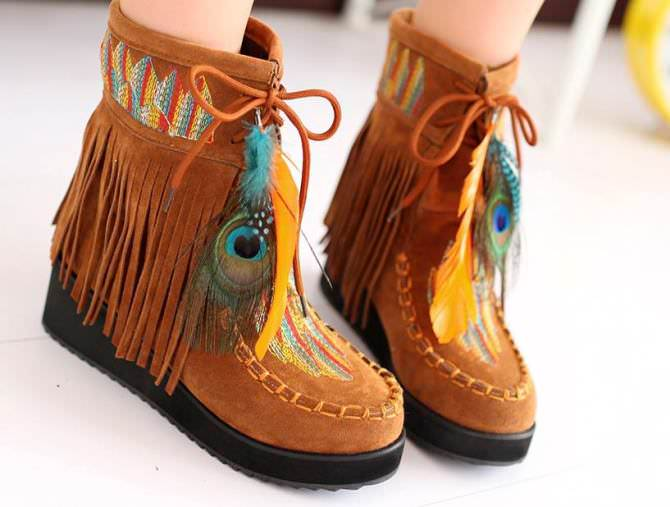 bohemian boots 23