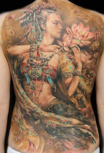 tatto art painting