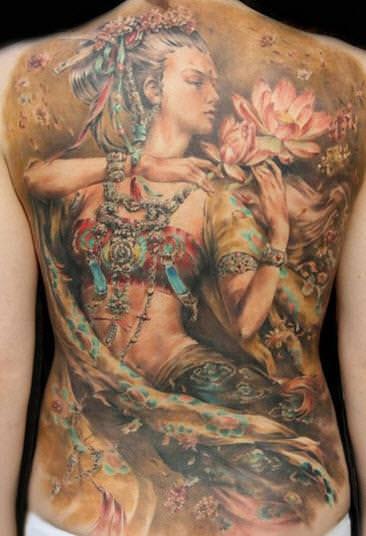 tatto art painting
