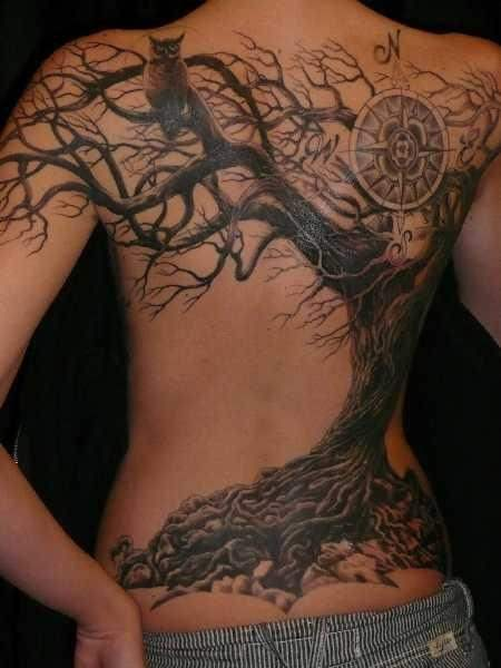 tatto tree art