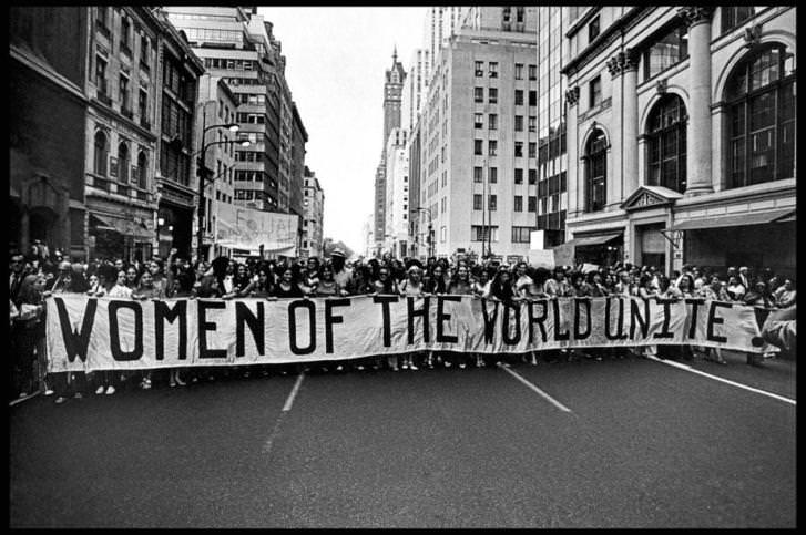 Women's rights march on Fifth Avenue in New York City, 1970 - 3