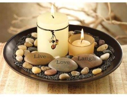 glass and vase stones 2