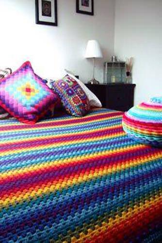 Granny Square Blanket 2