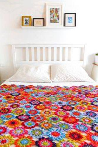 Granny Square Blanket 3