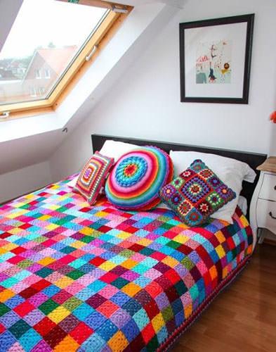 Granny Square Blanket 5