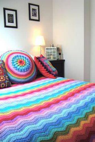 Granny Square Blanket 6