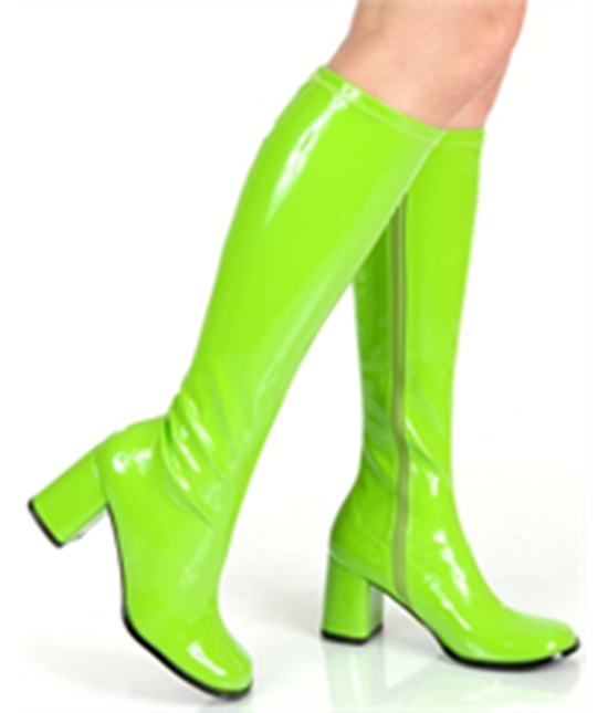 go go boots green