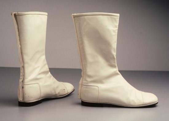 go go boots white