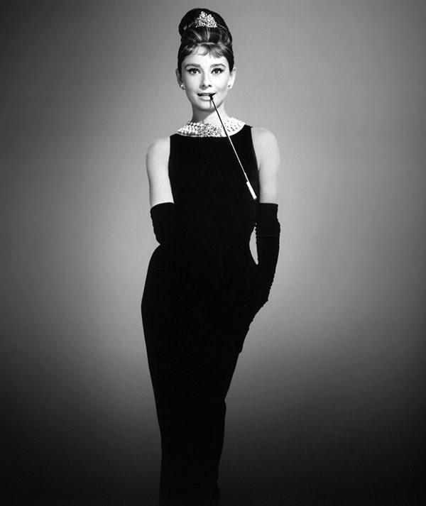 audrey-hepburn litle black dress