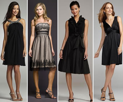 litle black dress 2000's
