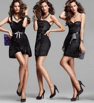 litle black dress 70s 80s