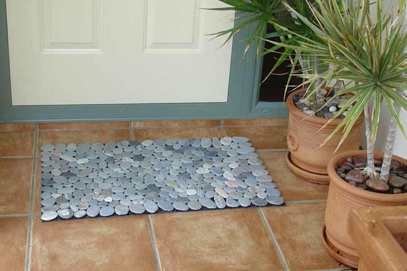 stone floor mat