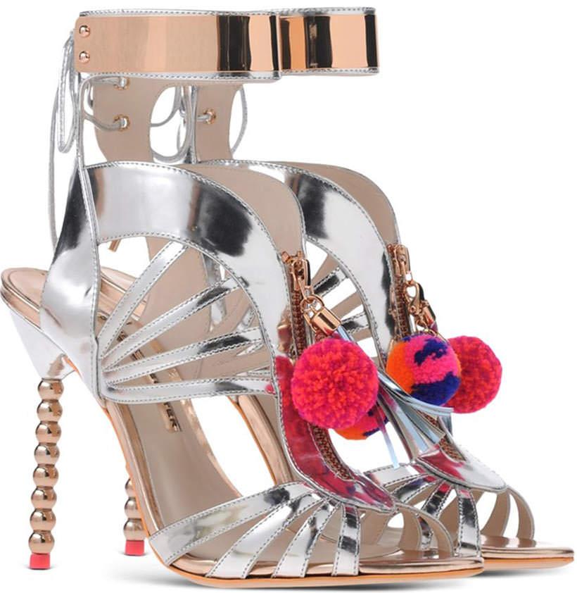 16 Sophia Webster Pom Pom sandals