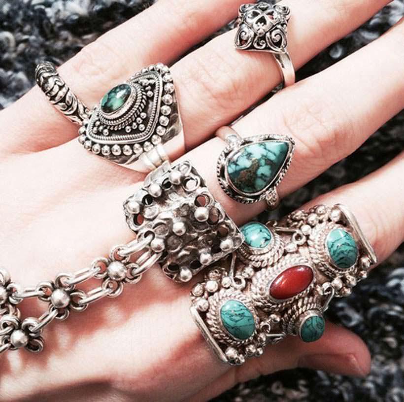 Bohho Acesoories rings 2