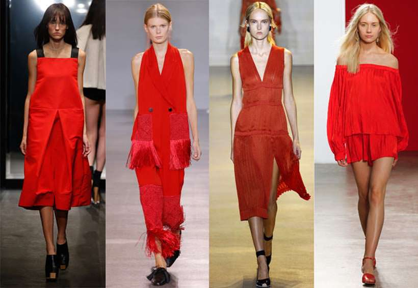 Lady's in red 1