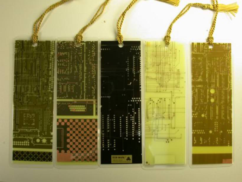 Recycled bookmarks 12