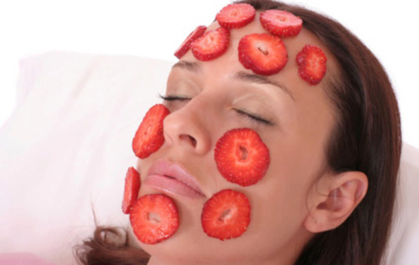 strawbery Treatment of Acne