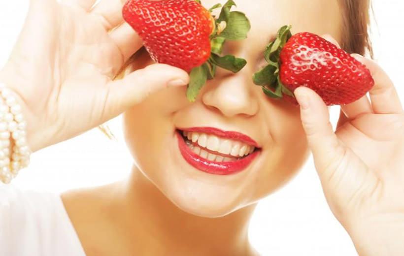 strawbery for eyes