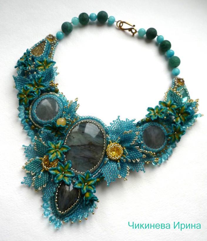 necklaces by Irina Chikineva 5